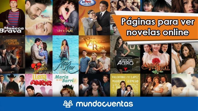 Las mejores páginas para ver o mirar novelas online gratis