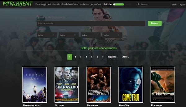 MiTorrent como página alternativa a DivX a Tope