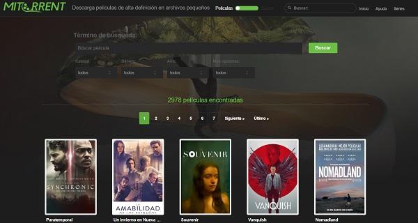MiTorrent como página alternativa a MejorEnVO