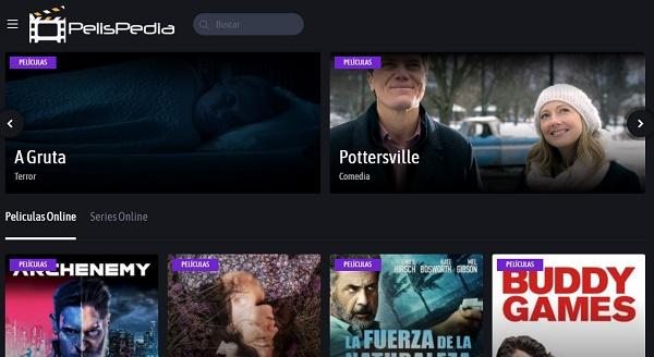 PelisPedia como página alternativa a Series Danko