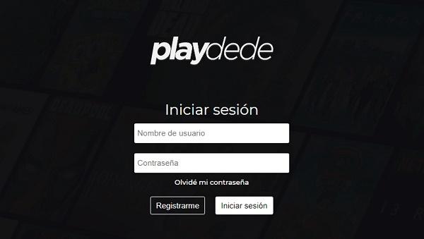 Playdede como página alternativa a MegaDede