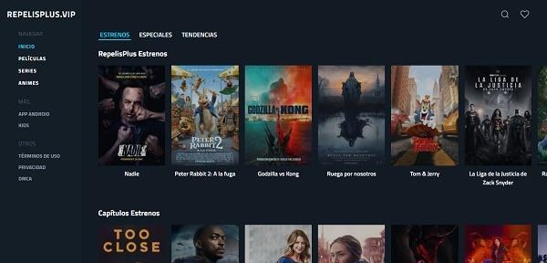 RePelis Plus como página alternativa a Cliver