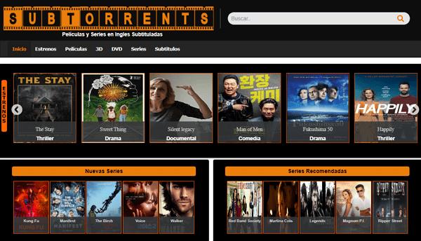 Sub Torrents como página alternativa a DonTorrent