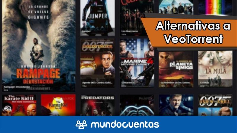 VeoTorrent ha cerrado o ya no existe Las mejores alternativas