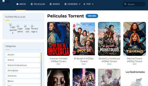 Zona Torrent como página alternativa a TodoTorrents