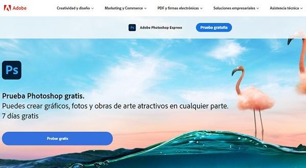 Adobe Photoshop como programa para editar fotos