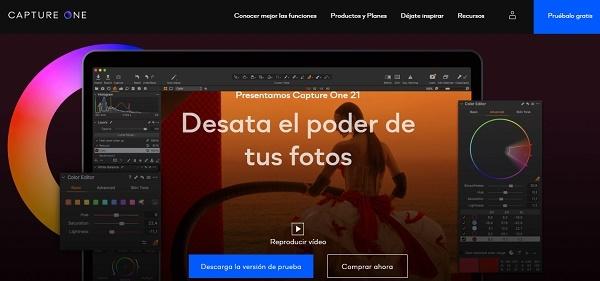 Capture One como programa para editar fotos