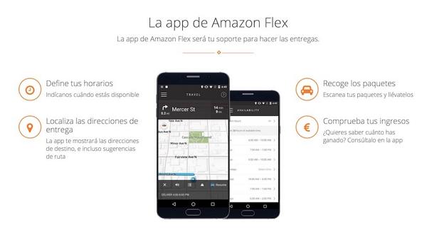 Cómo descargar la app de Amazon Flex