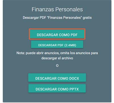 Cómo descargar presentaciones de SlideShare con DocDownloader paso 3