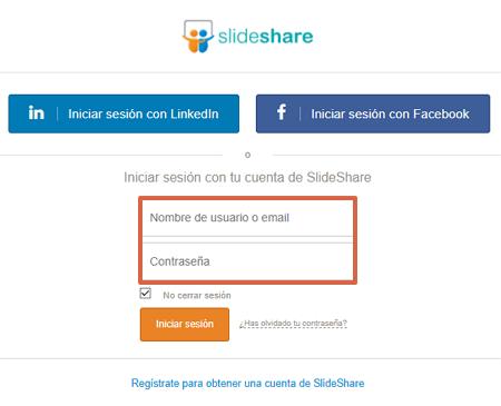 Cómo descargar presentaciones de SlideShare desde su página web paso 2
