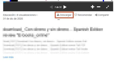 Cómo descargar presentaciones de SlideShare desde su página web paso 6