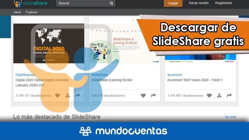 Cómo descargar presentaciones de SlideShare online gratis