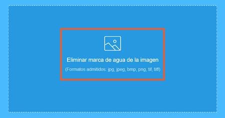 Cómo quitar la marca de agua de una imagen con Apowersoft Online Image Watermark Remover paso 1