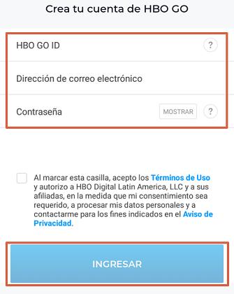 Cómo ver HBO GO gratis paso 3.