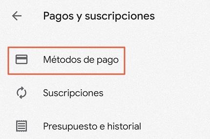 Configurar el país de la cuenta para canjear tarjeta de regalo de Play Store paso 3