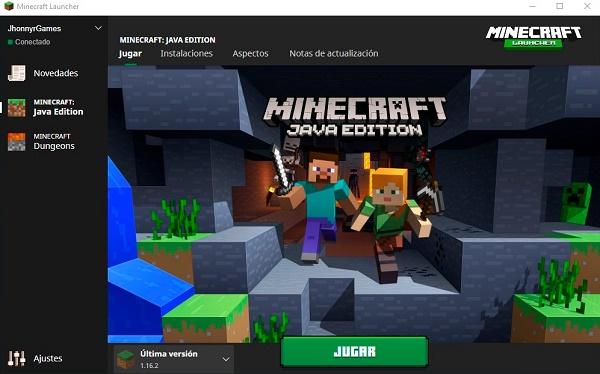 Crear un servidor en Minecraft con Minecraft Server