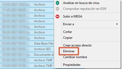 Error ERR_EMPTY_RESPONSE en Google Chrome cómo solucionarlo eliminando los archivos temporales paso 4