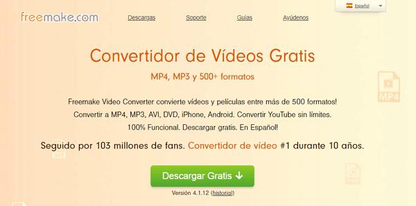 Freemake vídeo Converter