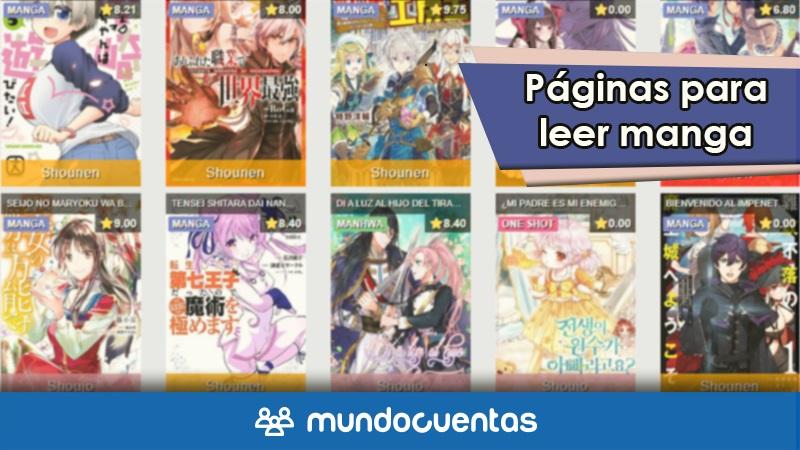 Las 15 mejores páginas web para leer manga en Internet