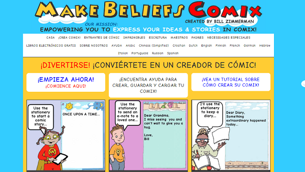 Make Beliefs Comix