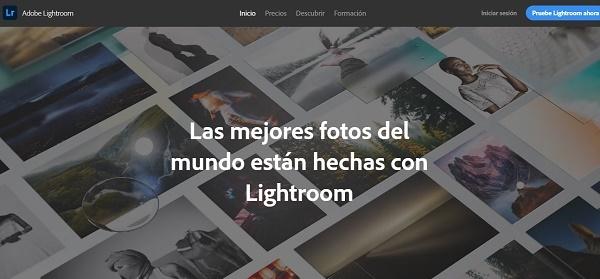 Photoshop Lightroom como programa para editar fotos