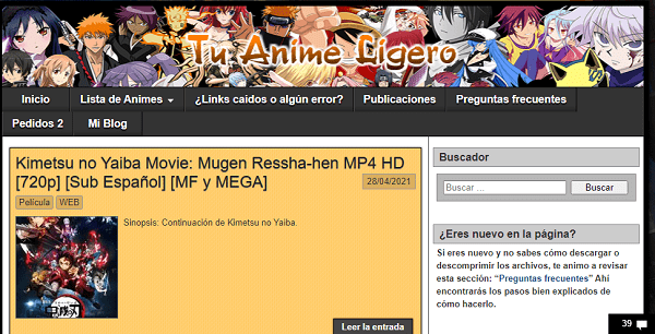 Tu Anime Ligero