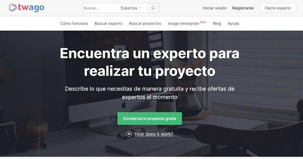 Twago como página web para buscar y conseguir empleo en Internet