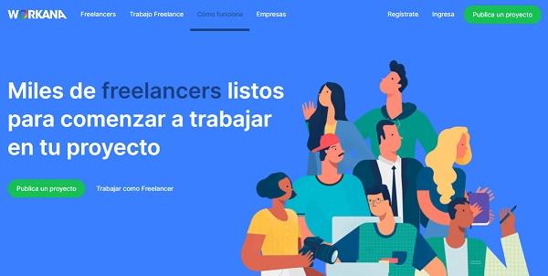 Workana como página web para buscar y conseguir empleo en Internet