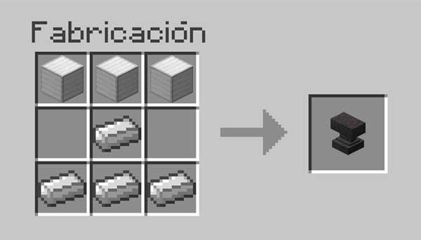 Activar la afinidad acuática en Minecraft con un yunque