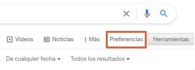 Cómo buscar y hallar una URL específica en Google usando la búsqueda avanzada paso 2