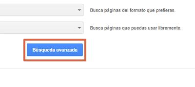 Cómo buscar y hallar una URL específica en Google usando la búsqueda avanzada paso 5