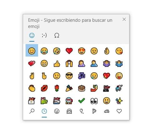 Cómo colocar o poner emojis en el teclado de tu ordenador en Windows 10