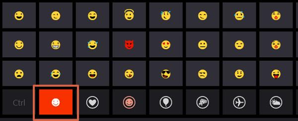 Cómo colocar o poner emojis en el teclado de tu ordenador en Windows 8 paso 3