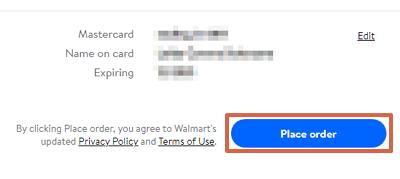 Cómo comprar en Walmart USA desde cualquier país paso 13
