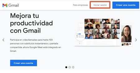 Cómo consultar un correo corporativo desde tu cuenta de Gmail paso 1