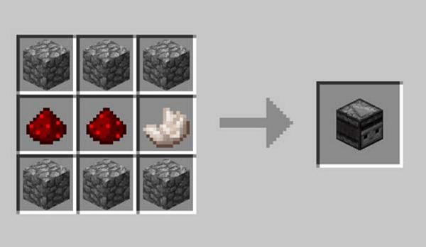 Cómo craftear observador en Minecraft