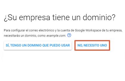 Cómo crear un correo corporativo Gmail gratis desde Google Workspace paso 4