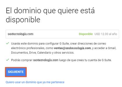 orreo corporativo Gmail gratis desde Google Workspace paso 6