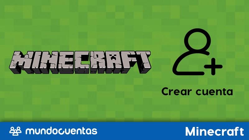 Cómo crear una cuenta o registrarte en Minecraft totalmente gratis