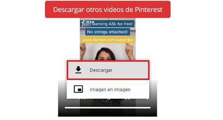Cómo descargar un video de Pinterest fácil y rápido. Desde la PC con PinterstVideoDownloader. Paso 5