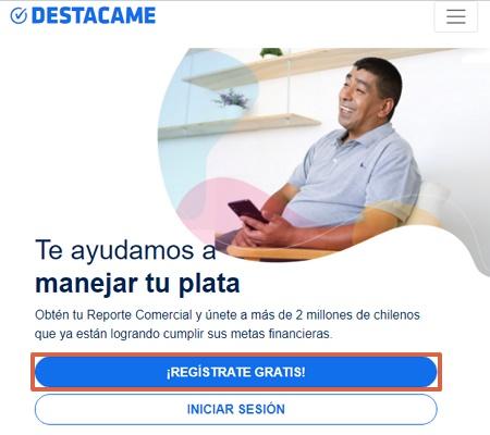 Cómo obtener tu informe Dicom Platinum 360 desde Destácame paso 1