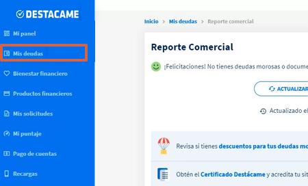 Cómo obtener tu informe Dicom Platinum 360 desde Destácame paso 6