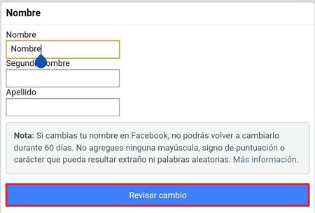 Cómo poner un solo nombre en Facebook sin el apellido usando un VPN. Paso 10