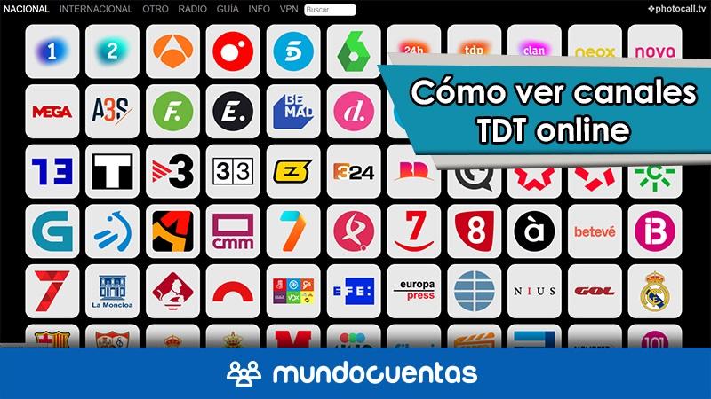 Cómo ver canales TDT online y otros programas de televisión gratis