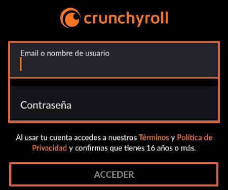 Cómo ver y tener Crunchyroll Premium gratis desde la app oficial paso 3