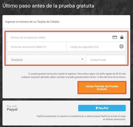 Cómo ver y tener Crunchyroll Premium gratis paso 4
