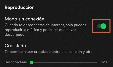 Configuración adicional de Spotify paso 2
