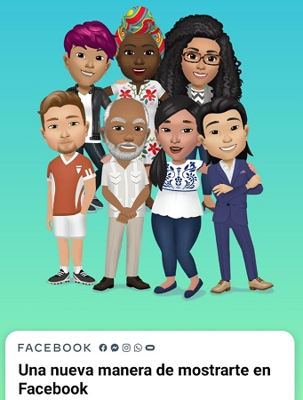 Crear tu avatar con Aplicación de Facebook