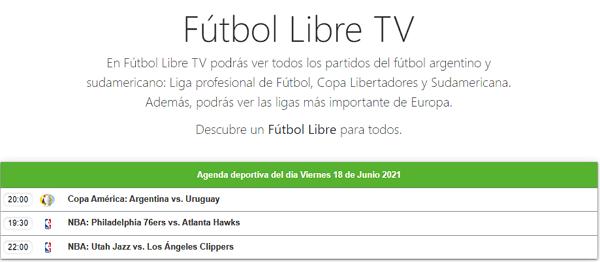 Fútbol Libre TV