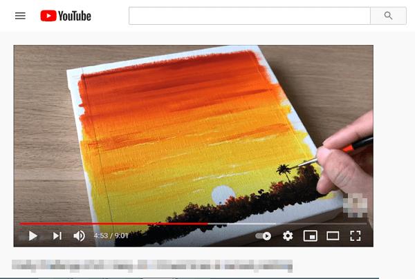 Vídeos públicos de YouTube